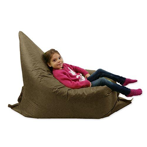 pouf g ant imperm able 6 positions pour enfants marron. Black Bedroom Furniture Sets. Home Design Ideas