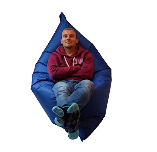 Extra Large Giant Beanbag Blue Indoor Amp Outdoor Bean Bag